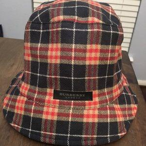 Authentic Burberry Reversible Bucket Hat